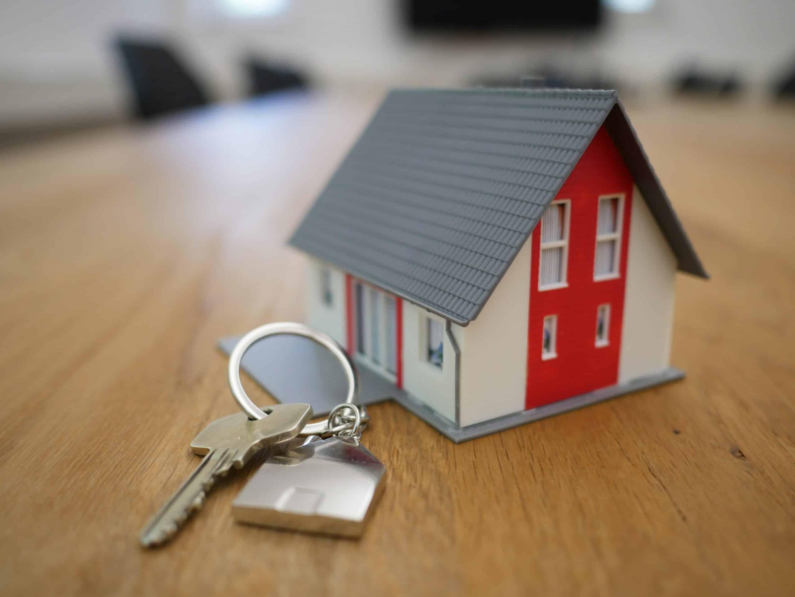 keys and a home keychain
